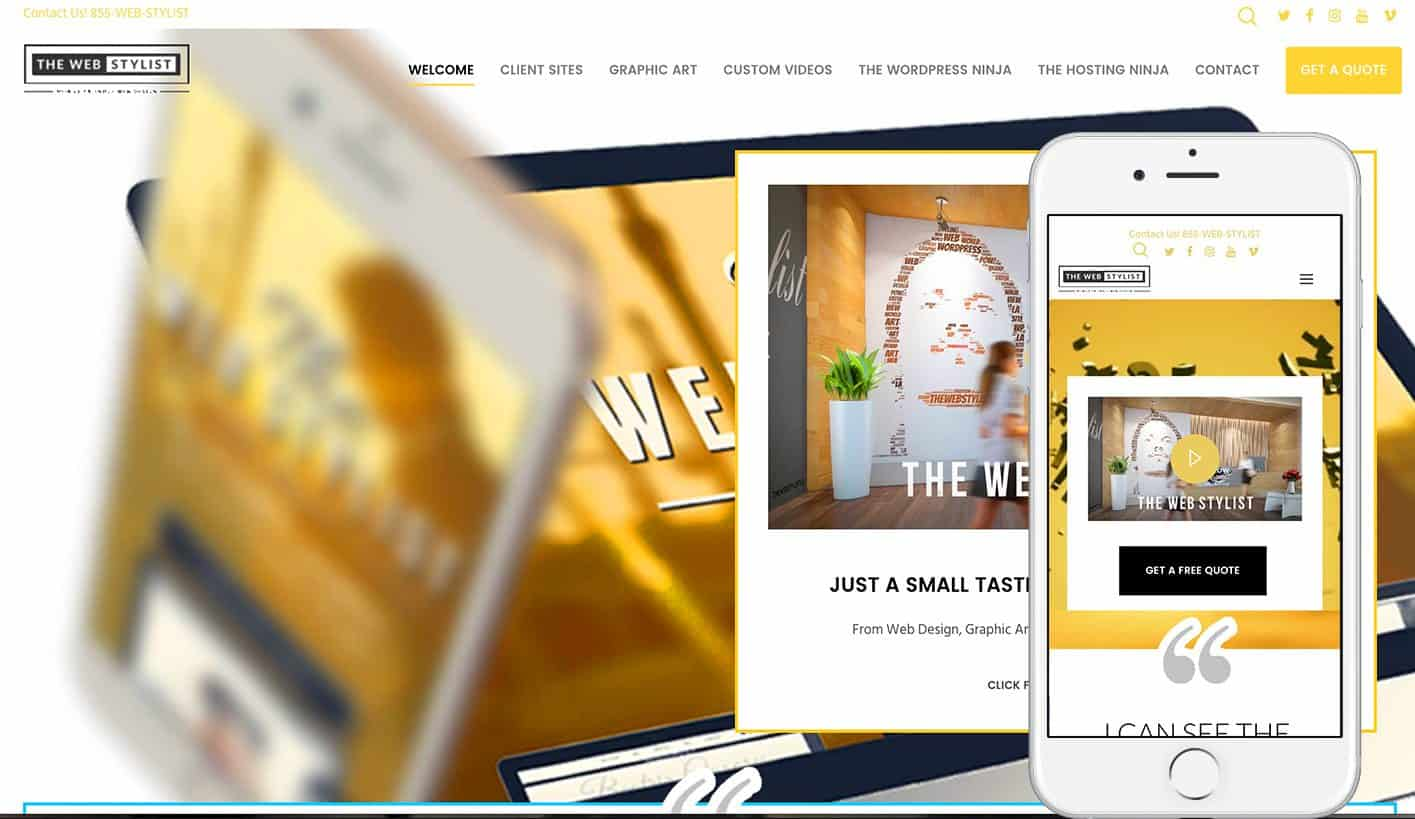 THE WEB STYLIST - Styling You For World View™